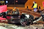 Трое украинцев разбились насмерть в аварии в Польше, BMW влетел в столб