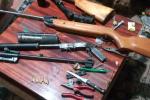 В Закарпатье наркоторговец затарился огромным количеством оружия