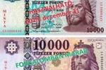 Банкнота номиналом 10000 форинтов прошла обновление: Старые банкноты изымаются