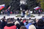 К западу от Ужгорода у словаков митинговали против карантина и антикоронавирусных мероприятий