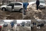 Гнів громади змусив бірова села на Закарпатті самому взяти лопату й вийти на автодорогу
