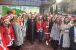 В Ужгороде торжественно открыли 44 и 45 мини-скульптурки