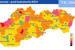 На мапі Словаччини з'явились перші два зелених окреси, правила пом'якшуються.