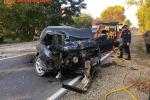 Детали аварии со школьным автобусом в Закарпатье: Водителя зажало в самом автомобиле