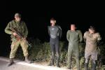 В Закарпатье троицу парней в сомнительных нарядах нашли по горячим следам
