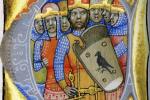 Семь вождей мадьяр в момент их прибытия в Карпатский бассейн в 895 году
