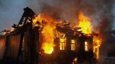 В Закарпатье при пожаре нашли труп человека