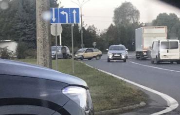 На выезде из Мукачево лихачи устроили ДТП