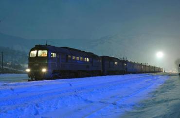 На Рахівщині потяг збив насмерть людину