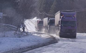 На Закарпатті — сильний сніг, на дорогах ожеледиця.