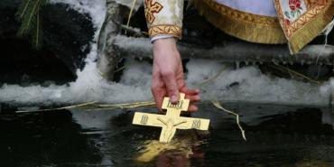 Водохреща в Ужгороді. Богослужіння та освячення води