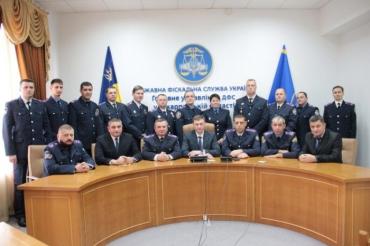 Пам'ятні відзнаки з нагоди 20 років діяльності податкової міліції вручені в Ужгороді