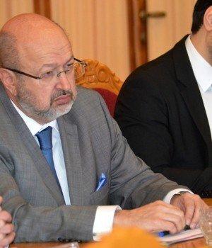 Ужгород. Верховний комісар ОБСЄ у справах національних меншин Ламберто Заньєр
