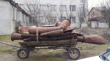 На Мукачівщині поліція оперативно затримала крадіїв металобрухту