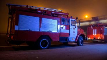 В Ужгороді з палаючого гуртожитку евакуювали сотні чоловік