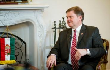 Матяш Сіладі, новий Генеральний консул у Берегові (Закарпаття)