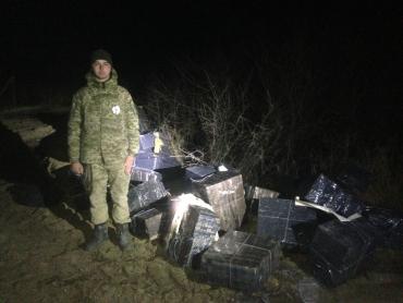 Мукачівські прикордонники повідомляють про затримання контрабандної партії сигарет