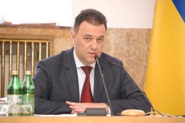 Голова Закарпатської облради Михайло Рівіс
