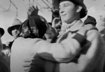 Закарпаття. Весілля у Колочаві. 1932 рік.