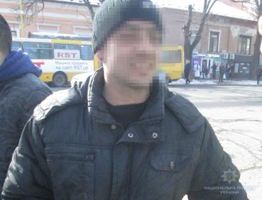 Поліцейські Ужгорода спіймали крадія за лічені хвилини