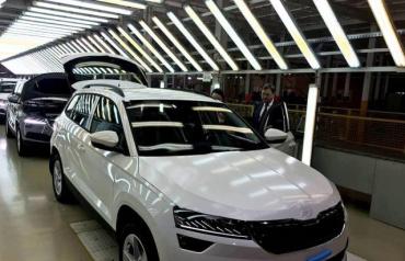 На Закарпатті запустили виробництво нових Skoda Karoq
