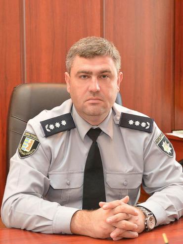 Начальник Головного управління Національної поліції в Закарпатській області Роман Стефанишин