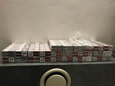 Контрабандні цигарки виявили прикордонники в автомобілі іноземця