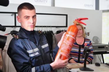 В ужгородському ТРЦ відбулася перша за 6 років перевірка пожежної безпеки