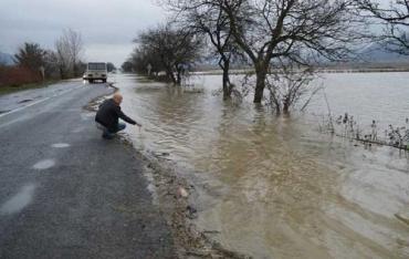 У верхів'ях та середніх течіях річок Закарпаття очікується підйом води на 0,5-1,5 м