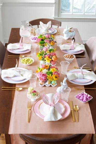 20 ідей, як незвичайно на Великдень сервірувати стіл