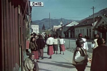 Закарпаття. Рахів, 1942 рік.