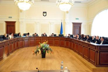 ВРП про ліквідацію місцевого суду в Ужгороді