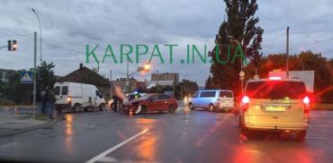 Кто реально виноват в не хилом ДТП, произошедшем вечером в Ужгороде