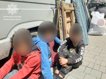 В Ужгороде преступность портит совсем маленьких детей