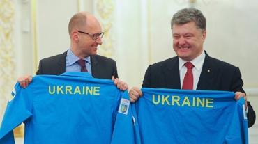 Кровавый режим Порошенко-Яценюка зубами цепляется за власть