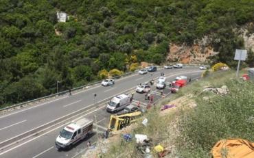В Румынии произошло жуткое ДТП с участием туристического автобуса, в котором ехали украинцы
