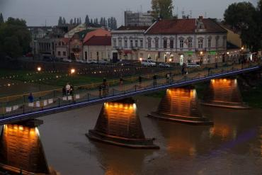 Практически весь Ужгород лишат воды
