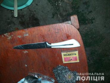 В Закарпатье обезумевшая дамочка пырнула ножом своего сожителя