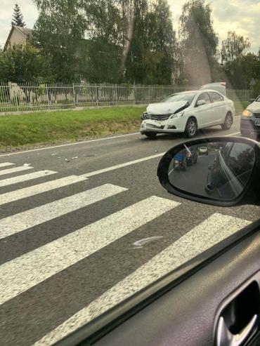 В Закарпатье один неверный маневр привёл к ДТП