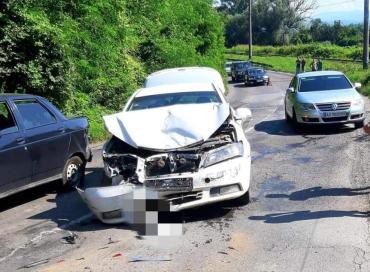 Возле Ужгород из-за дорожного ремонта произошло тройное ДТП