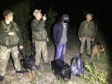 Иностранцев без документов задержали пограничники в Закарпатье