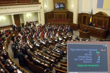 Верховная Рада переписала Конституцию: Украина идет в НАТО и ЕС