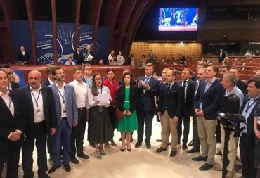 Россию возобновили в ПАСЕ: Украинская делегация покинула Ассамблею