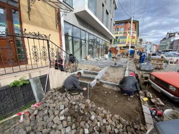 В центре Ужгорода очередной акт вандализма