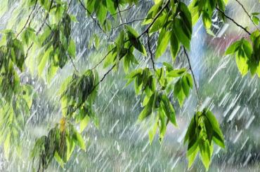 Потужні зливи з градом і грозами знову штурмують Закарпаття!