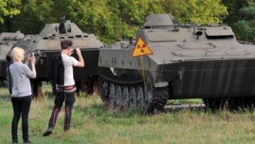 Ukrainian servicemilitarytour.netoffers APC rides, airplane flights, and trips to Chernobyl