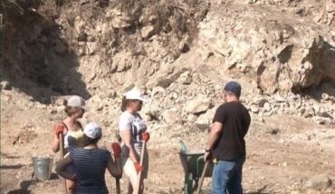 Студенти під час розкопок в Ужгородському замку знайшли цінні знахідки