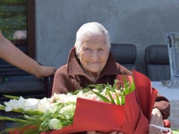 Корінна мешканка Ужгорода Маргіта Чомбокош святкує сьогодні 100 рочків!