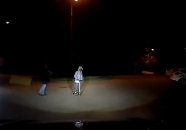 В Ужгороде водителю авто удалось избежать ДТП благодаря своей реакции