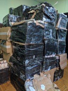 Податкові міліціонери Закарпаття затримали майже 17 тисяч пачок цигарок, з них половина — білоруські